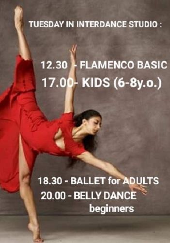 International dance studio 7