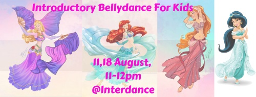 Introductory bellydance for kids 1
